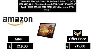 CHUWI Hi9 Plus 10.8 'Tablet PC Android 8.0 Oreo OS (MTK 6797 X27)