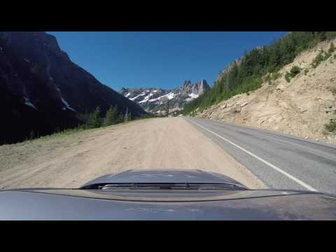 North Cascade Highway 20 ( Time Lapse )