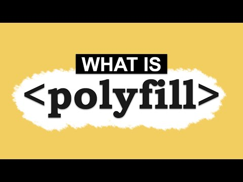 What is Polyfill (Web Development) - YouTube