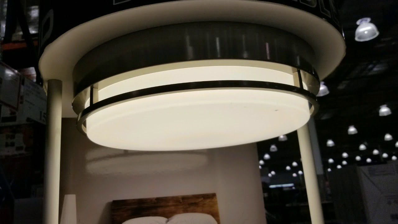 Costco Modern Styled Led Flush Mount Light Fixture 20 24