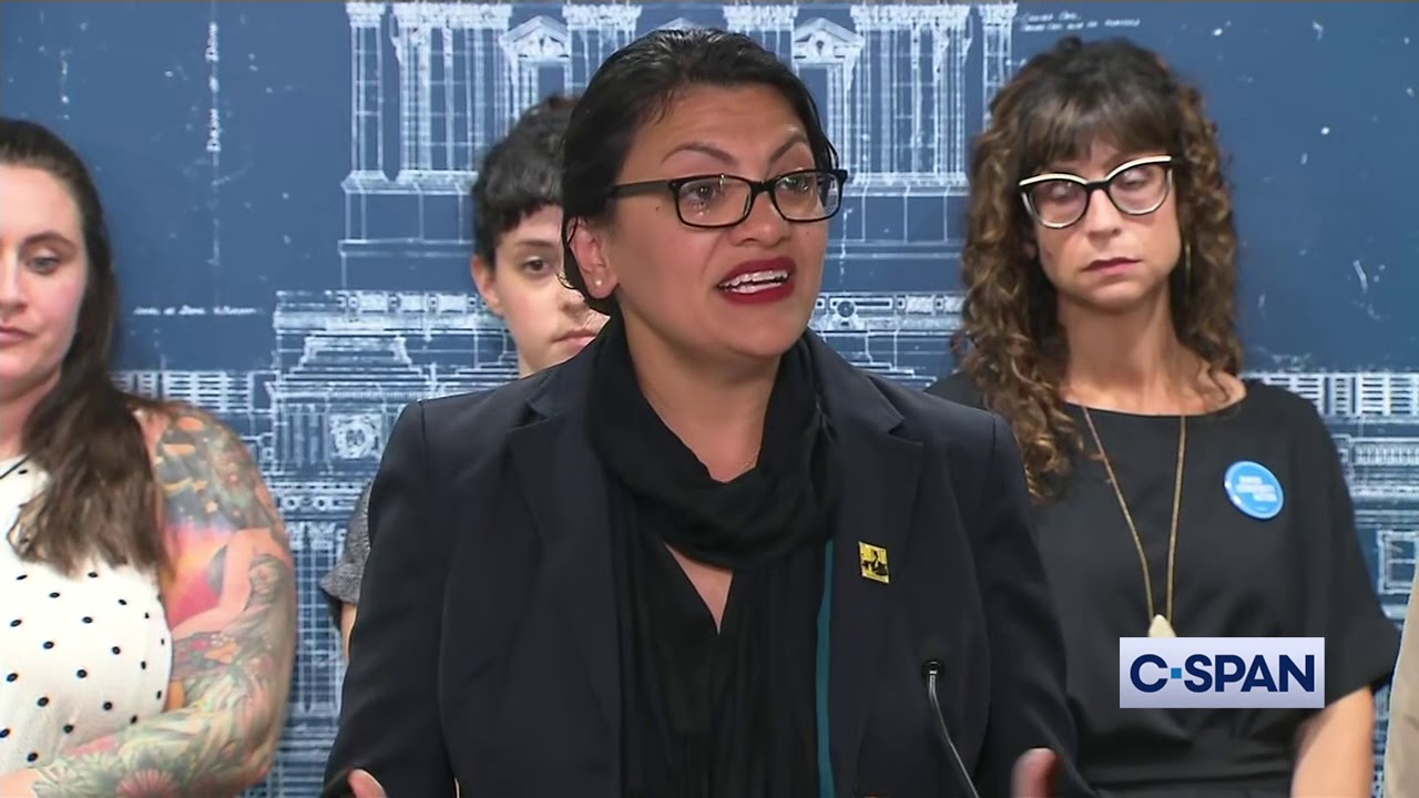 CSPAN Representatives Omar and Tlaib on Israel Travel Ban