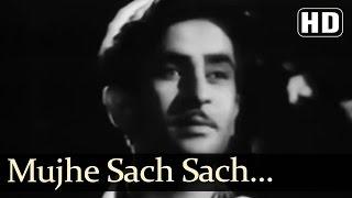 Mujhe Sach Sach Bata Do - Bawre Nain Songs - Raj Kapoor - Geeta Bali - Rajkumari - Mukesh