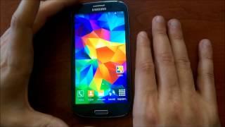 Galaxy S5 Özellikleri Artık Galaxy S3 I9300 Cihazınızda - Android 4.4.4 - KitKat