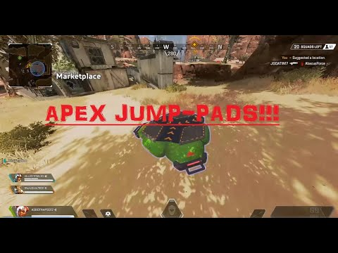 Apex Legends - прыжковые платформы отсылают к новому персонажу