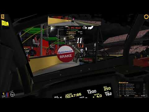 iRacing Nascar Series Open Bank of America 500 @ Charlotte 10-6-2017