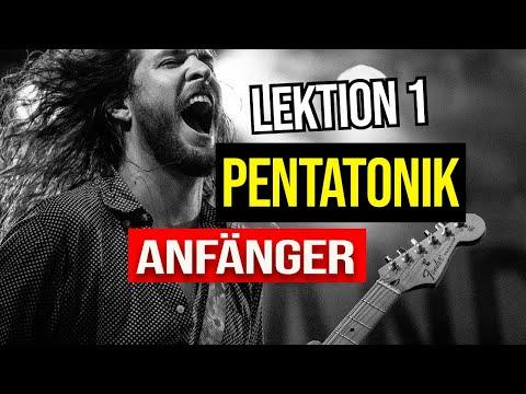 E-GITARRE LERNEN - Dein 1. Solo - DIE PENTATONIK Anfänger 1/2 from YouTube · Duration:  10 minutes 1 seconds