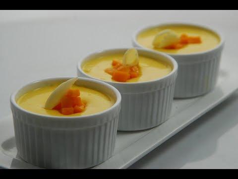 Mango Chocolate Custard | New Season | Cooksmart | Sanjeev Kapoor Khazana