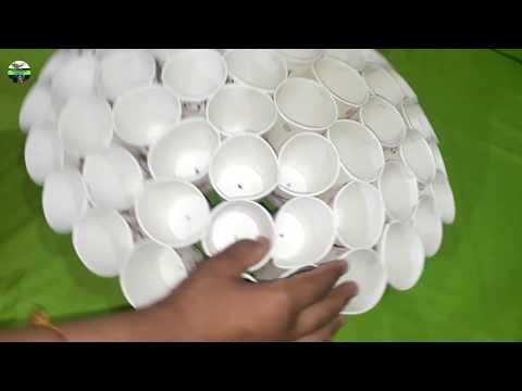 Diwali Decoration Ideas,Only ₹50 में बनाऐं Diwali Decoration lamp, Evergreen world, Hanging lamp