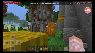 Playing on Mineplex server