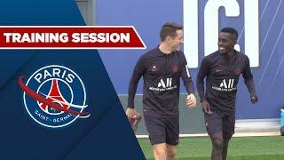 TRAINING SESSION - PARIS SAINT-GERMAIN vs ANGERS