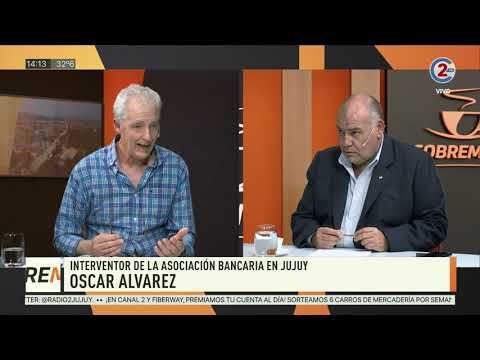 Sobremesa: Oscar Álvarez