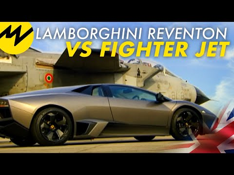 Lamborghini Reventon Vs Fighter Jet Youtube