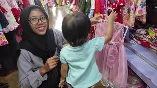 Anak Lucu Belanja Perlengkapan Pesta Ulang Tahun Khanza Mau Ultah Yang Ke 2