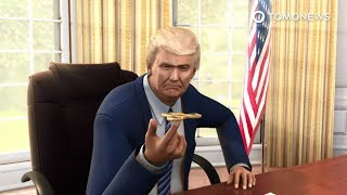 President Donald Trump has some serious Fidget Spinner fever   TomoNews