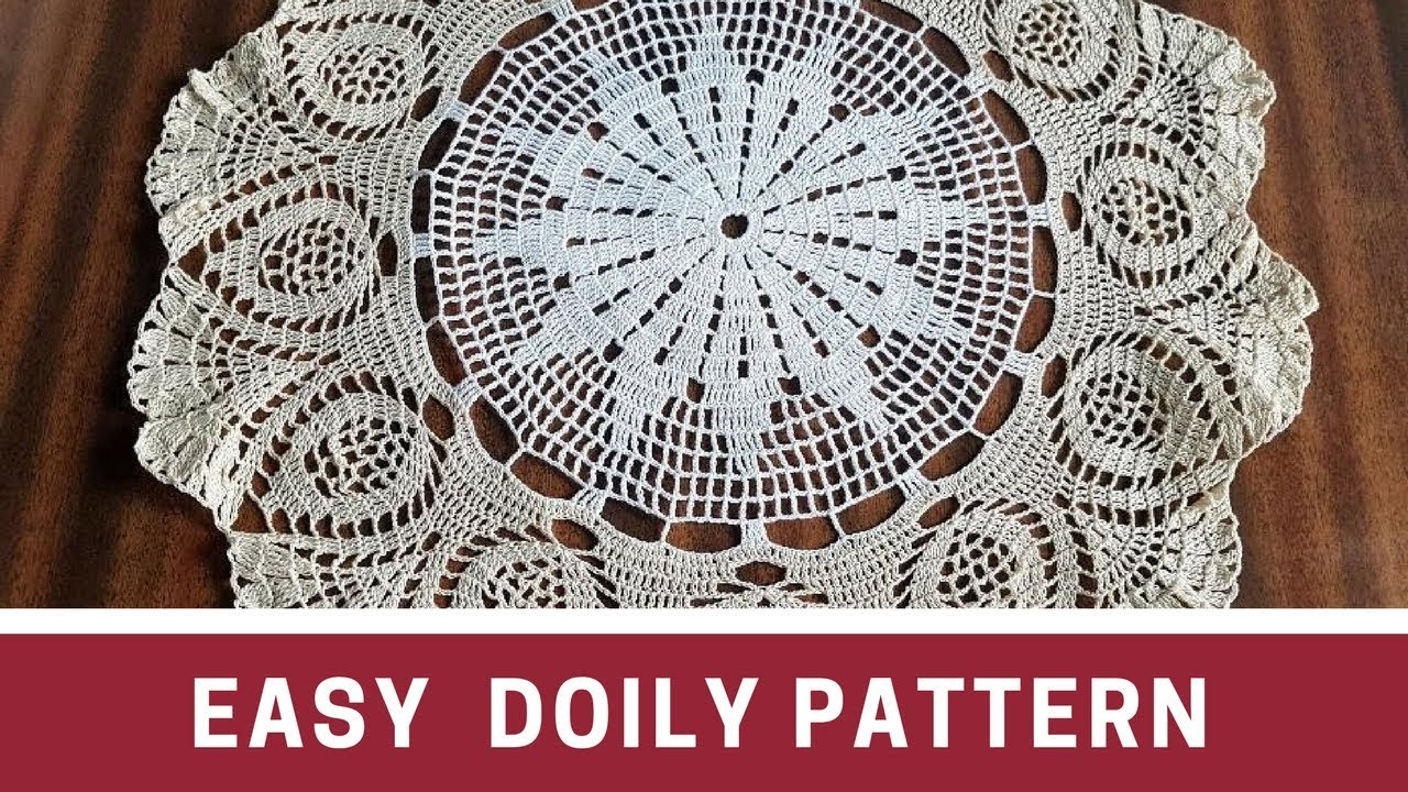 Easy crochet doily pattern schema youtube easy crochet doily pattern schema bankloansurffo Gallery