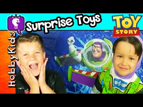 Toy Story Surprise CAMPING TENT + Legos by HobbyKidsTV ...