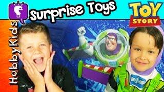 Toy Story Surprise Camping Tent! Disney Toys + Lego By Hobbykidstv