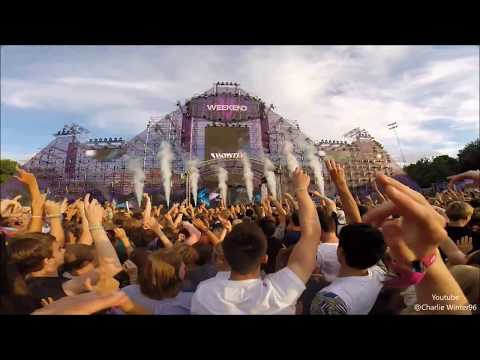Showtek  Live @Weekend Festival Sweden 2016 | GoPro