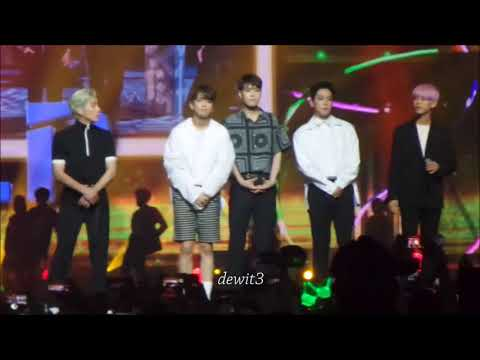 170902 Dance Cover and Opening greating Artists Music Bank in Jakarta Fancam