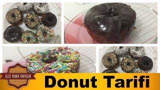 Donut Tarifi | Hindistan Cevizli ve Çikolatalı Donut Nasıl Yapılır ?