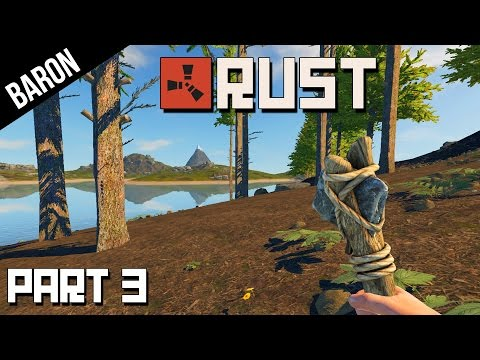 Rust Gameplay Part 3 - Building the Lake House!  (Rust Experimental Building)