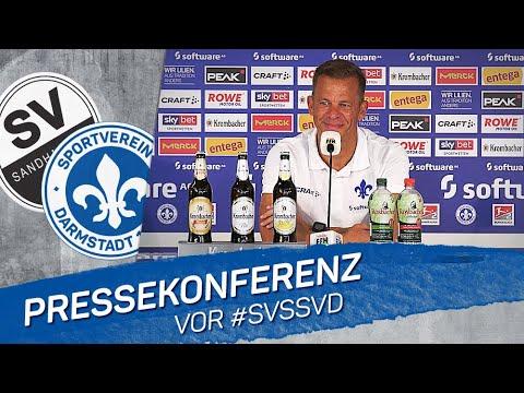 Darmstadt 98   Pressekonferenz vor #SVSSVD