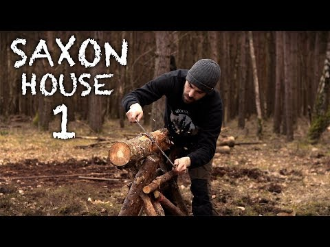 Building a Saxon House with Hand Tools: A Bushcraft Project