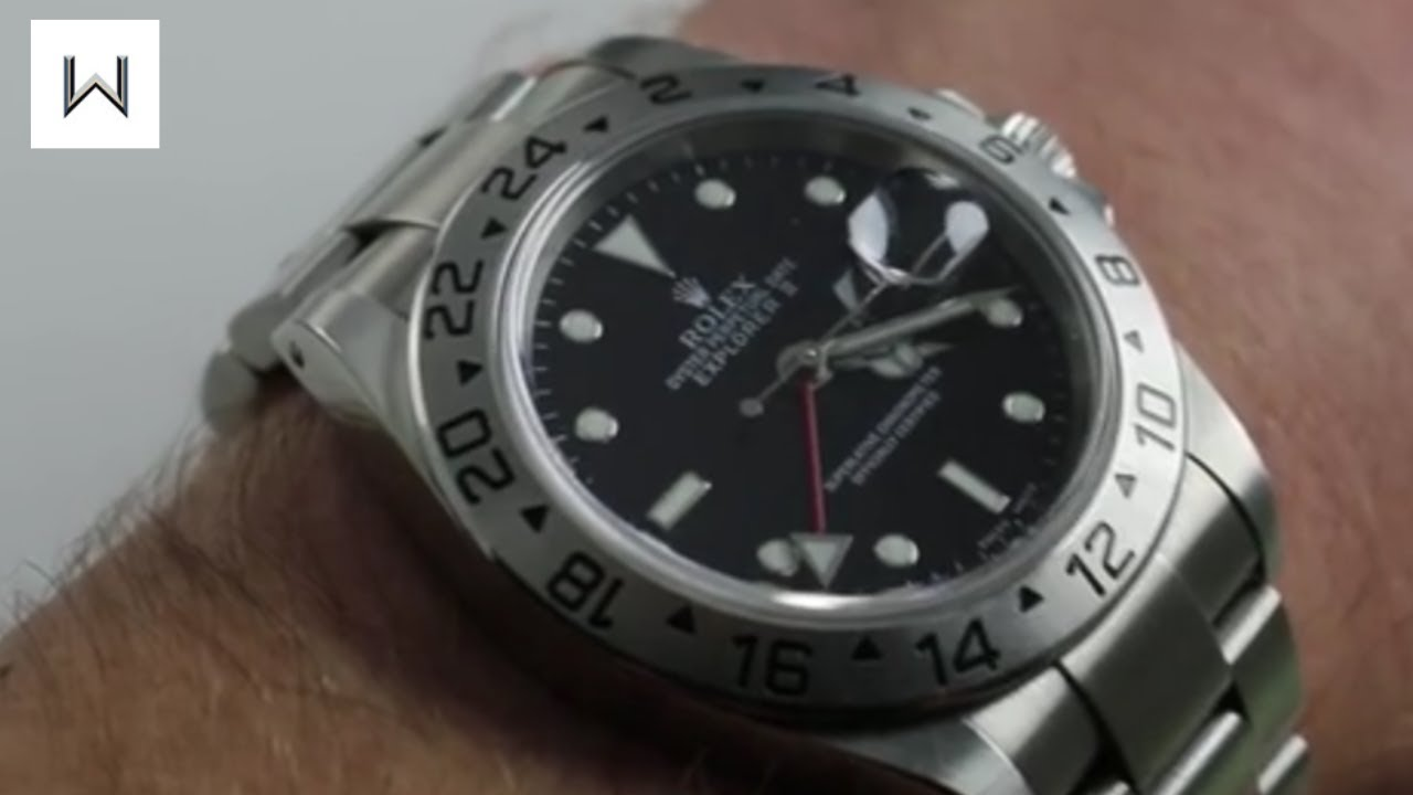 c9a43493bdf Rolex Oyster Perpetual Explorer II 16570 Luxury Watch Review - YouTube
