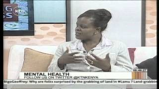 Morning Express Dealing with Mental Health discussion with Dr Catherine Syengo