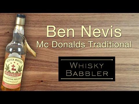 Whisky Review: Ben Nevis Mc Donalds Traditional (German/Deutsch)