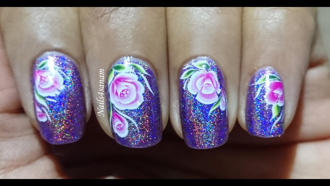 Water Decals nail art stickers | BORNPRETTYSTORE.COM REVIEW - YouTube