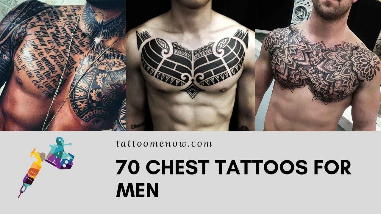 20 Best Chest Tattoos for men   YouTube