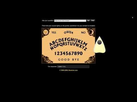 Brainjar ouija board