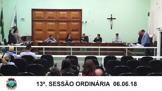 Sessão da Câmara 06.06.18