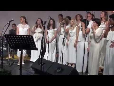 MERRY GOSPEL CHOIR - Marija Kuburic Borovic Belgrade Concert MIXER HOUSE 22.06.2016.