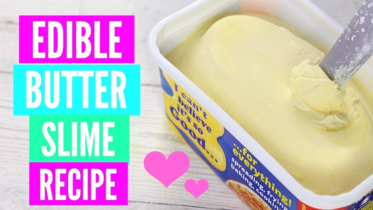 How To Make Slime Without Glue, Without Borax And How To Make Butter Slime  Without