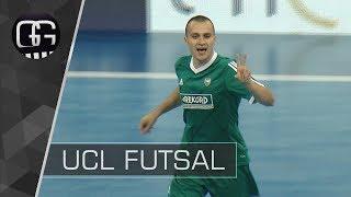 UCL Futsal: Rekord Bielsko-Biała - Varna City [CLIP]
