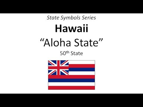 State Symbols Series - Hawaii