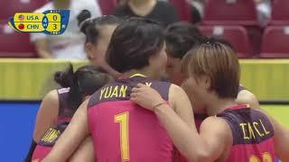 2017 女排大冠军杯袁心玥 集锦 Women volleyball grand championship Yuan xinyue Moments
