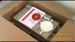 Popcake Tutorial - Installing the Machine - Spanish