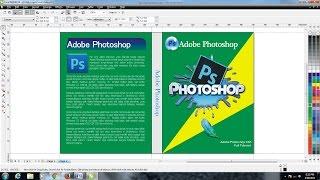 Cara Paling Mudah Membuat Cover Buku dengan CorelDRAw X4