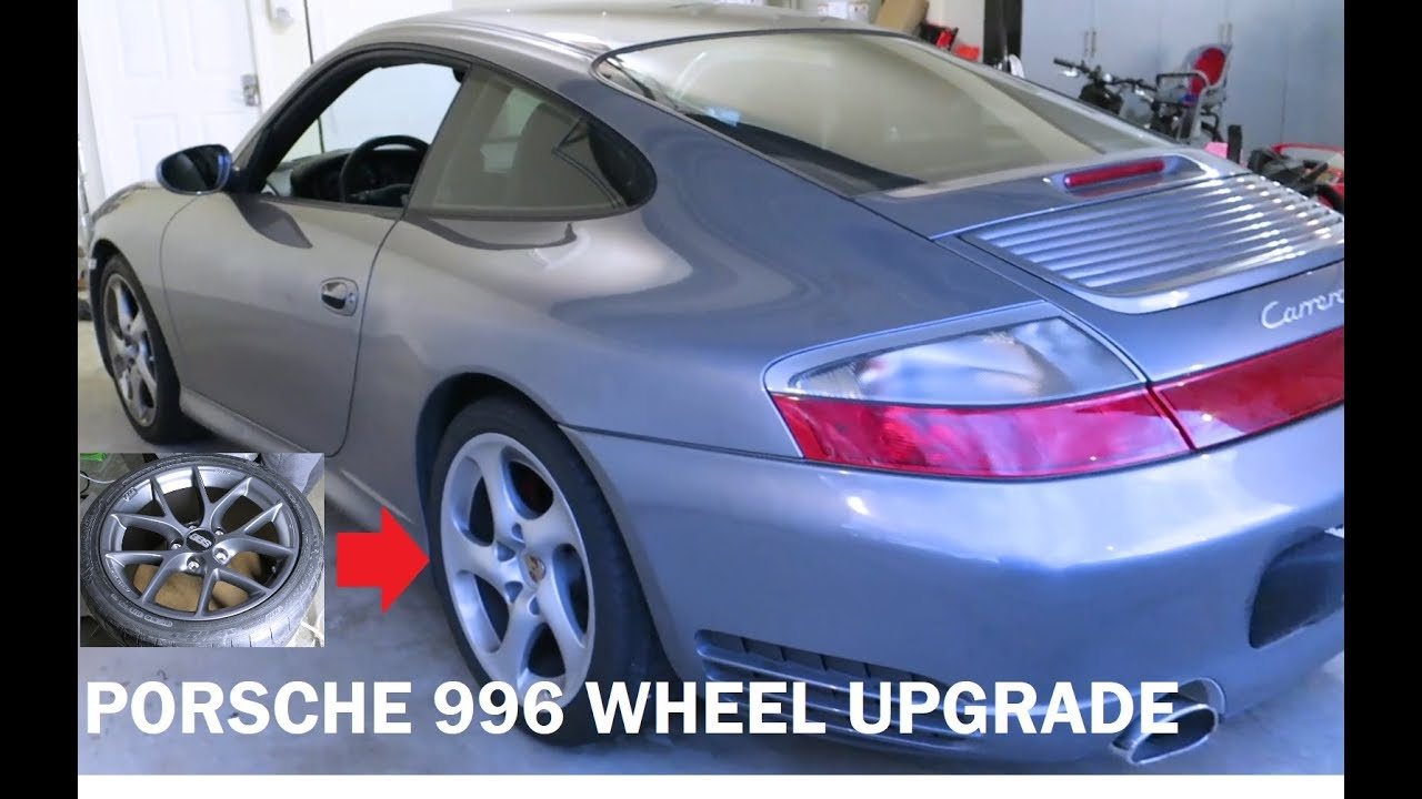 porsche 996 c4s bbs sr wheel upgrade [ 1280 x 720 Pixel ]