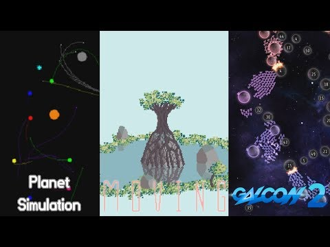 Planet Simulation, Moving, Galcon 2 | SPACE, PLANTS, AND MORE SPACE