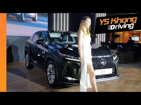Launch of All-New Lexus ES 250 and Lexus RX300 [Quick Walkaround Review] | YS Khong Driving