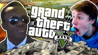BIG MONEY BALLER WAGER RACE!! - GTA 5 Online Funny Moments