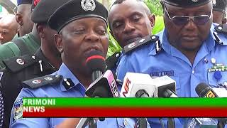 transmission ;NIGERIA NEWS NIGERIA POLICE FORCE PARADES Hxxxxx AND OTHER SUSPECTS IN LAGOS