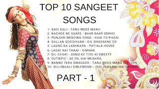 Sangeet Songs For Wedding 2019  Bollywood Wedding Songs Collection   Ladies Sangeet Songs 2019
