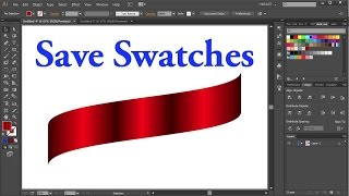 How to Save a Custom Color Swatch in Adobe Illustrator