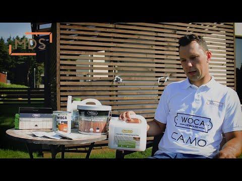 WOCA Wood Cleaner (medienos valiklis), apžvalga | www.mdsterasos.lt