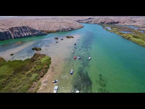 Sandbar and Pirates Cove Drone Footage